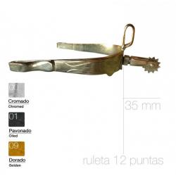 ESPUELA VAQUERA MB24 GALLO CORTO