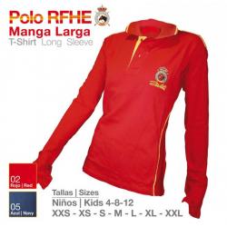 Camisa-Polo R.f.h.e M/larga