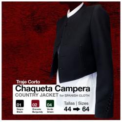 TRAJE CORTO CHAQUETA CAMPERA