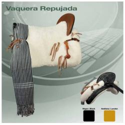 SILLA ZALDI C. VAQUERA REPUJADA (COMPLETA)