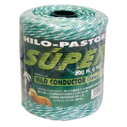 Hilo Pastor Elect. Conductor 200M.6Hilos-Super