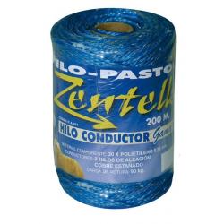 Hilo Pastor Elect. Conductor 200M.3Hilos Azul