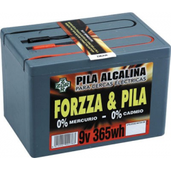 Pila Mod.forzza 9V. 365W. Alcalina