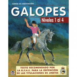 Libro: Curso Equitacion. Galope Nº 1 Al Nº 4