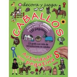 Libro: Caballos Actividades Cd+Pegatinas