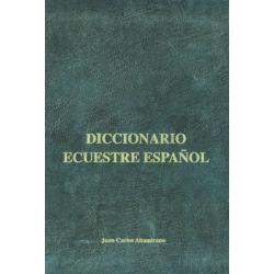 Libro: Diccionario Ecuestre Español