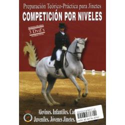 Dvd: Competicion Por Niveles (Pack 3 Uds)