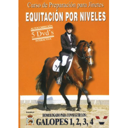 Dvd: Equitacion Por Niveles. Galopes 1,2,3,4