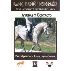 Dvd: Equitacion/españa.ayudas Y Contacto