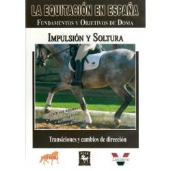 Dvd: Equitacion/españa.impulsion Y Soltura