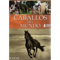 Dvd: Caballos Del Mundo (4Uds.) Crest.