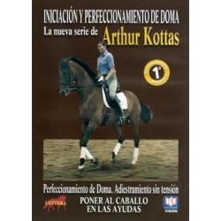 Dvd: Arthur K. Poner Al Caballo En Las Ayudas