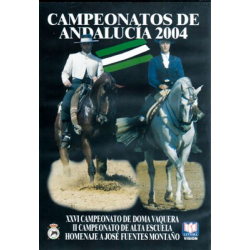 Dvd: Campeonato De Andalucia De D. Vaquera