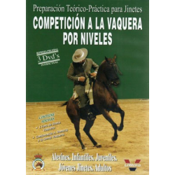 Dvd: Competicion Vaquera Por Niveles (3Uds)
