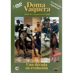 Dvd: Doma Vaquera Una Decada En Evolucion (pack)