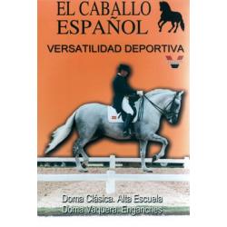 Dvd: El Caballo Español Versatilidad Deportiva