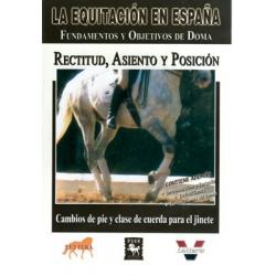 Dvd: Equitacion Rectitud, Asiento Y Posicion