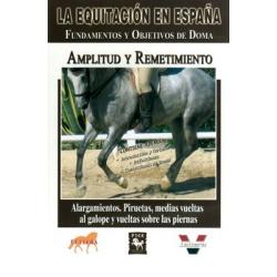 Dvd: Equitacion España Amplitud Y Remetimiento