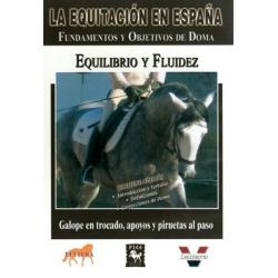 Dvd: Equitacion/españa.equilibrio Y Fluidez
