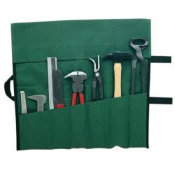 Bolsa Utensilios Herrador Lona Verde