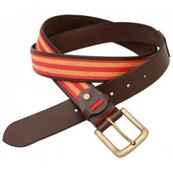 Cinturon Piel Manta Estribera B/ España