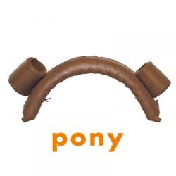 Muserola Vaq. C/ Pasador Pony