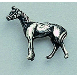 Pin Plata Caballo