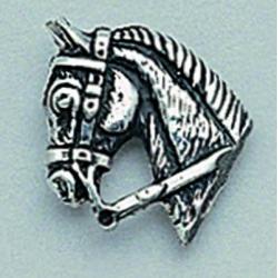 Pin Plata Cabeza Caballo