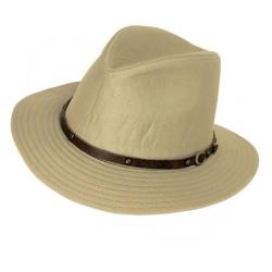 Sombrero Indiana Cinta  Beige