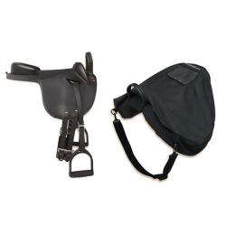 Silla Inglesa Pony Completa Negra
