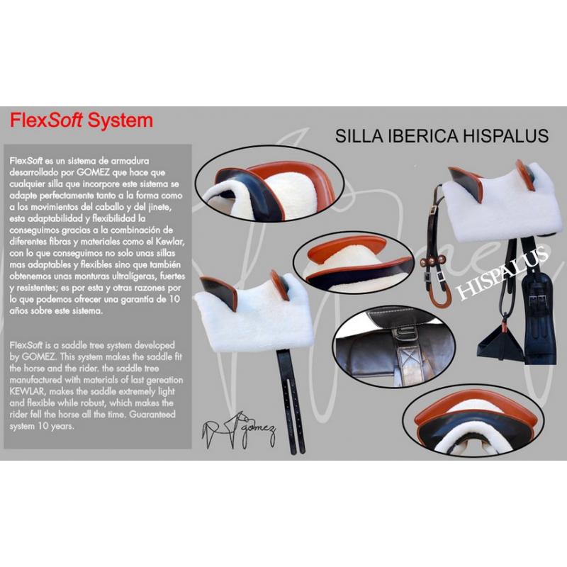 Silla iberica hispalus her gomez equivan tienda hipica - Faster iberica silla ...