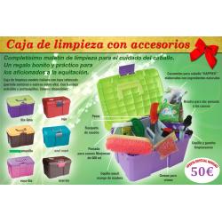 Caja De Limpieza Con Accesorios