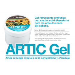 Unika Artic Gel Refrescante Antiinflamatorio 0.5Kg
