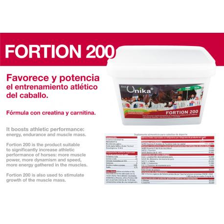 Unika Fortion Creatina Rendimiento Atletico 6.6Kg