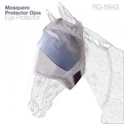 Mosquero Para Caballo Sin Orejeras Rg-5942