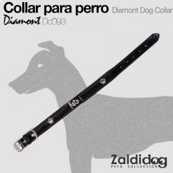 Collar PERRO Diamont Dc093 Negro