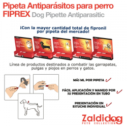 Pipeta Antiparasitos Fiprex