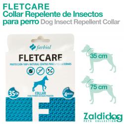 Collar PARA PERROS Repelente Insectos Fletcare