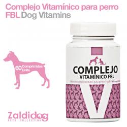 Complejo Vitaminico PARA PERROS Fbl 60 Comprimidos