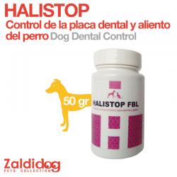 Control Placa Dental Y Aliento para perros Halistop 50Gr