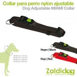 Collar Nylon Ajustable para perro