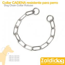 Collar PARA PERRO DE Cadena Resistente