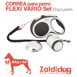 Correa PARA PERRO Flexi Vario Set 20Kg. 5M.