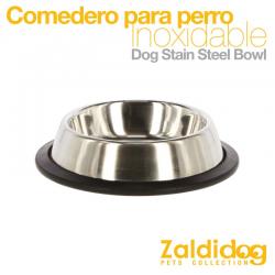 Comedero perro Inox 700Ml