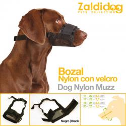 Bozal Nylon Con Velcro PARA PERRO