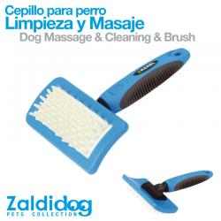 Cepillo Para Limpieza Y Masaje 18Cm X 12Cm PARA PERROS