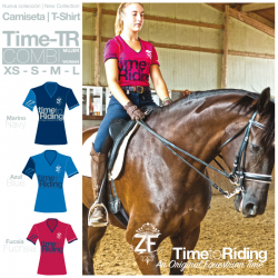 Camiseta Time Tr Combi Mujer