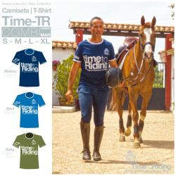 Camiseta Time Tr Combi Hombre