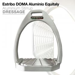 Estribo Inglés Aluminio Equitaly Doma Aluminio