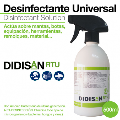 Desinfectante Mantas Didisanrtu 500Ml